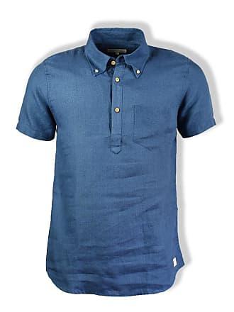 Ivy Large Afield Pop Far über Ensign Extra Leinenhemd Blue 1wPn4ZRqx