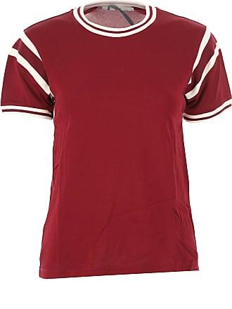 For Women Sale shirt 40 Rabanne 2017 T Paco M Viscosa On Bordeaux gxqBtWw