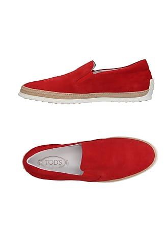 pour De Ville en Rouge Hommes Chaussures YwfFUBxE