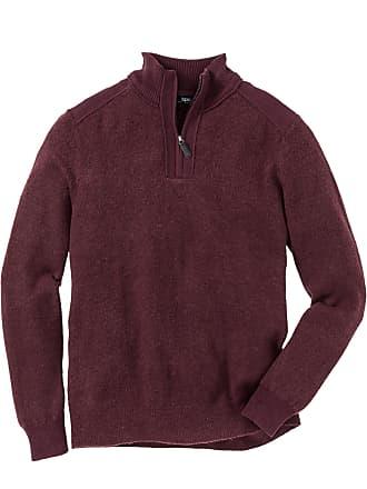 Fit Langarm Von Troyer In pullover Bonprix Regular Rot 9eWEHIYbD2