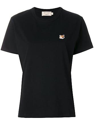 T shirt Patch À Noir Maison Kitsuné Brodé 5qxEfqP8