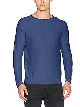 Crew knit Jack Bleu Homme Pull Small Blue ensign Jorbelmont Knit Fit Neck amp; Jones Fit TIxR7Trw