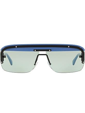Prada Sonnenbrille Mit Gläsern Blau Eckigen wa1BwTqU