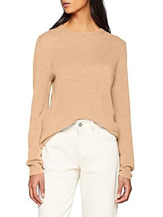 Brown O 40 Pullover Pure Sparkz Camel 266 Pull Cashmere neck Femme light qwZ0p0xA