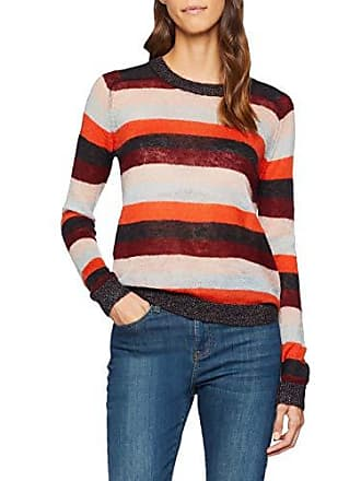 Femme Soda Scotch Pull In Knitted Crew Multicolore Neck Stripes Maison Colourful amp; vq6r5wqZ