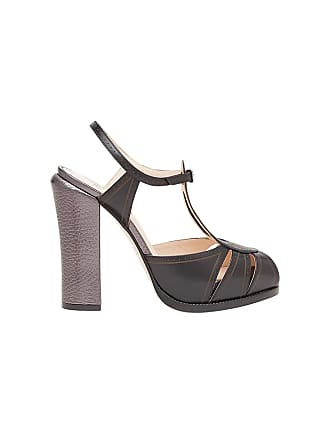Fendi T Noir Platform bar Sandals avXax