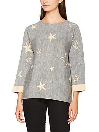Small Mujer Jacquard grey Sudadera Grau Mavi 24386 Sweater Melange Star Para xXvnqPB