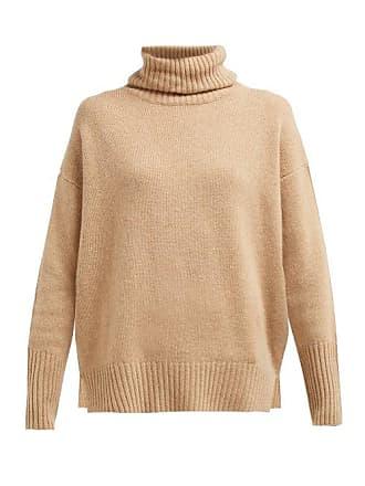 Allude SweaterWomens Roll Cashmere Camel Neck 34LAj5qcR
