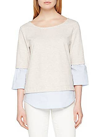 beige Melange Cartoon Beige Shirt 7706 Femme Sweat 81177308 YWOZ1OH8