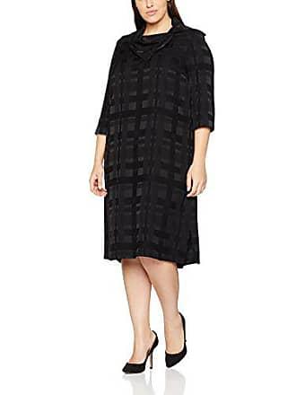 Negro 46 Mujer Para Vestido Dress Nero Popken 10 Collar Ulla Large pRvw60