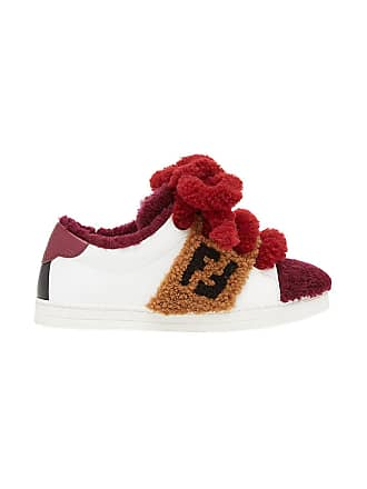 Sneakers Low Contrast top Blanc Fendi wSTgYqY