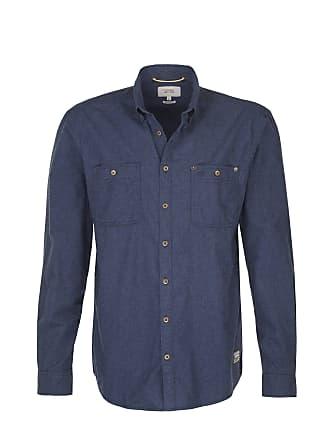 Langarm button »« Midnight Active Normale Regular kragen Uni ärmellängen Hemd down Covered Fit Camel Blau xpq4ZnXwwU