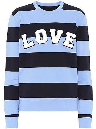 En À Coton Love Sport Tory Rayures shirt Sweat fTxvwXqt