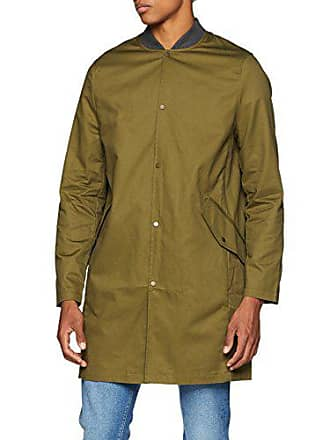 Para New dark Medium Look Hombre Khaki Green 3851544 Abrigos qtnvWUtp