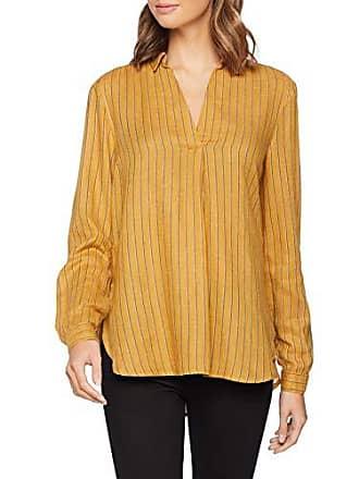 giallo da Anna dal modello produttore Camicia Look taglia 42 Stripe 14 donna 6061513 89 New 57qw8XU5