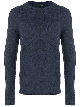 Collina Teddy Sweater Roberto Teddy Bleu Roberto Collina Zqwtf4g