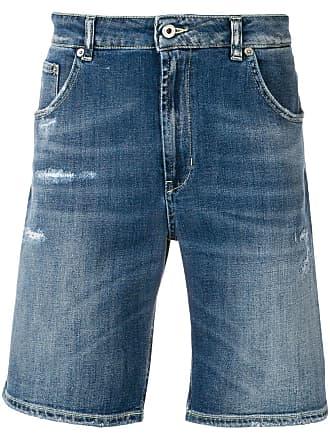 Dondup denim short shorts - Blue