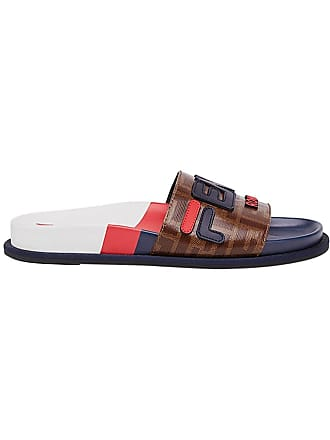 6352432bb914 Fendi Multicolor Womens Fendi Mania Slides - The Webster