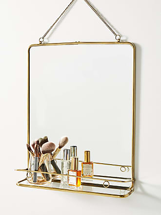 Anthropologie Imogene Shelved Mirror