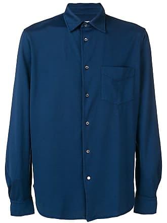 Aspesi Camisa com abotoamento - Azul