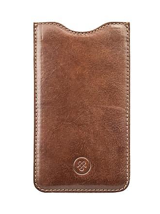 Maxwell Scott Maxwell Scott - Luxury Tan Leather iPhone 7 Plus Phone Case