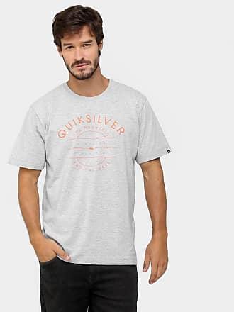 eeb70ffeaf33e Quiksilver Camiseta Quiksilver Básica Simplistic - Mescla - P