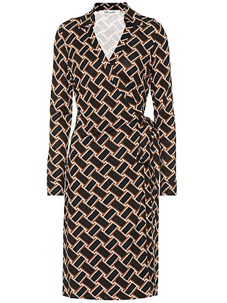 Diane Von Fürstenberg New Jeanne silk-jersey wrap dress