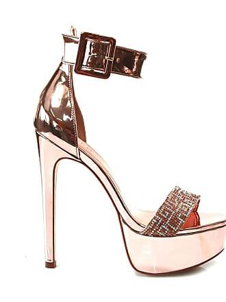 5b2f421023 Sandálias De Salto Com Tiras  Compre 161 marcas com até −70%