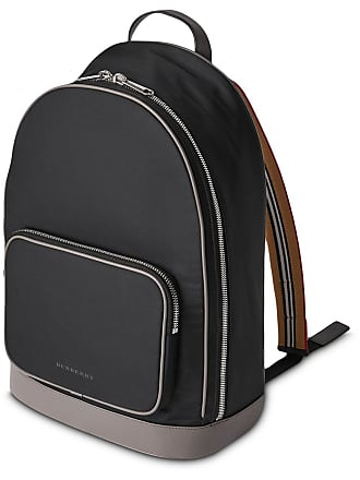 90b20758e540 Burberry Heritage Stripe Detail Nylon Backpack - Black