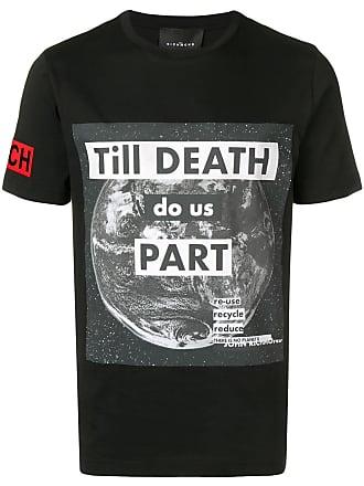 John Richmond Camiseta Till Death - Preto