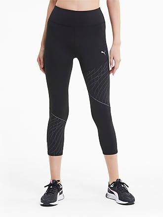 PUMA Leggings Damen, Schwarz Weiß, Größe XL in 2020