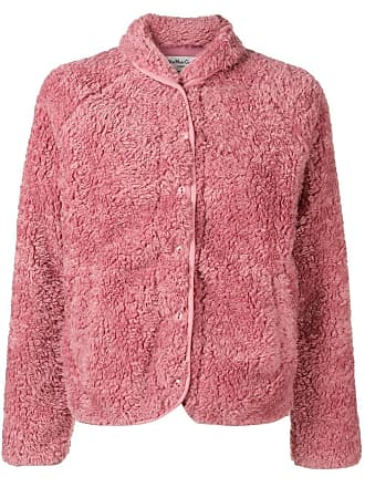 Ymc You Must Create textured button-up jacket - Pink