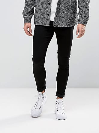 Cheap Monday Spray - Medelhöga jeans i svart