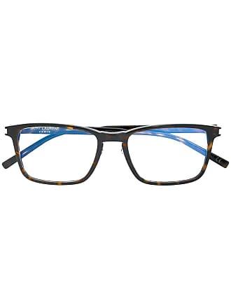 Saint Laurent Eyewear Armação de óculos SL187 Slim 006 - Preto