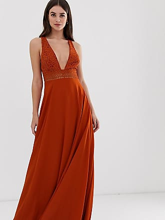 17f234e5db Asos Tall ASOS DESIGN Tall sleeveless maxi dress with lace bodice