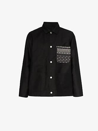 Sophnet. floral print pocket denim jacket