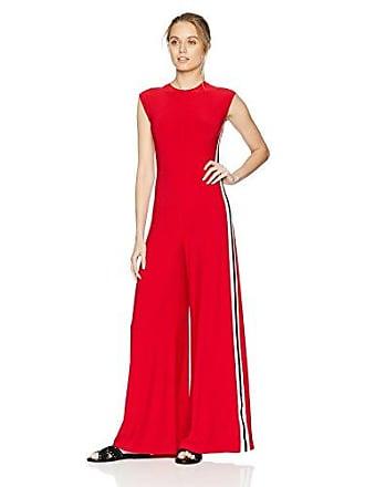 e08c9a6753e Norma Kamali Womens Side Stripe Sleeveless Jumpsuit