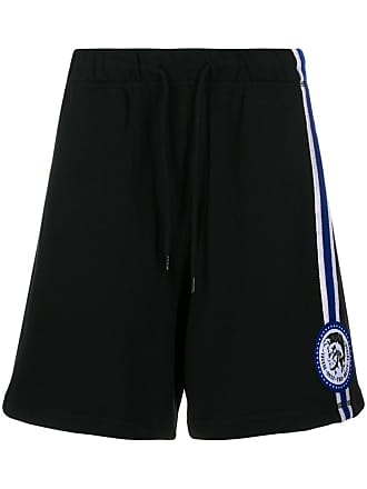 Diesel only the brave track shorts - Preto