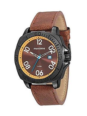 Mondaine Relógio Visor e Pulseira Marrom 76689GPMVPH1