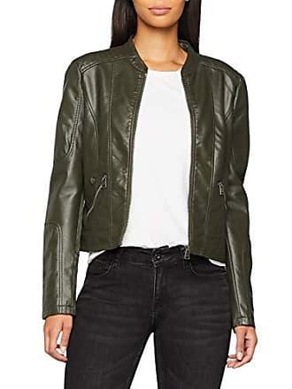 156dbded5f55 Vero Moda Damen Jacke VMEUROPE FAVO Faux Leather Jacket IP