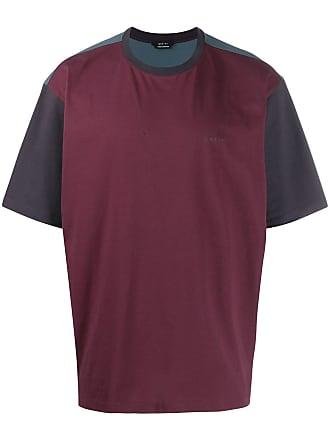 Qasimi colour block T-shirt - Purple