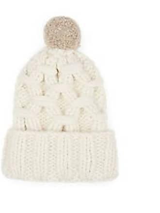 b51e3ec197ab4 Lola Hats Womens Braces Alpaca-Blend Beanie - Cream