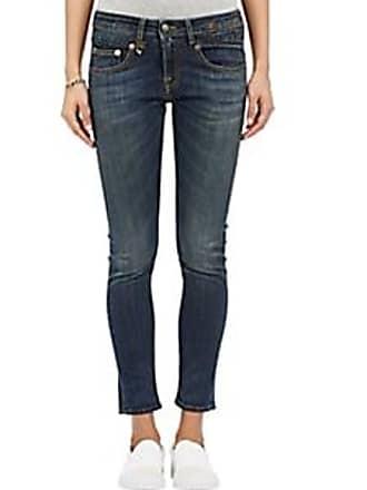 R13 Womens Boy Skinny Jeans - Blue Size 29