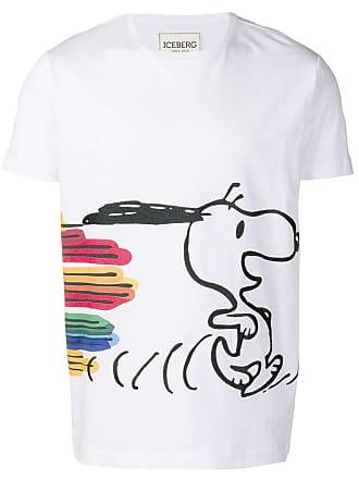 Iceberg Snoopy print T-shirt - White