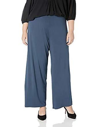 Nic+Zoe Womens Plus Size Ease Pant, Indigo sea, 1X