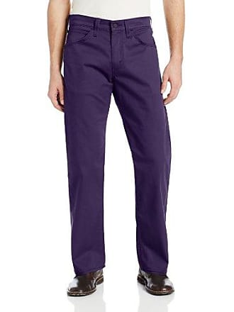 7f415ae2e71 Levi's Mens 569 Loose Straight Fit Line 8 Twill Pant, Blackberry, 31x30