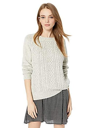 5289dc0b45b Jack   Jones by BB Dakota Juniors Secret Bow-Mance Cable Knit Sweater with  Contrast