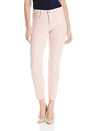 NYDJ Womens Clarissa Skinny Ankle Jeans, Peach Skin, 14