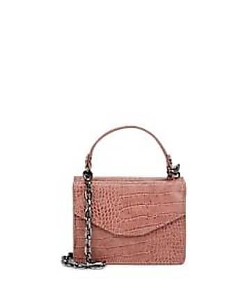 52cc9c7938 Deux Lux Womens Mini Crocodile-Embossed Satchel - Pink