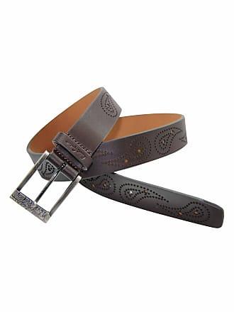 Robert Graham Mens Flitwick Belt In Brown Size: 32W by Robert Graham